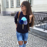 ice-cream-plush-ball-nice-round-neck-simle-long-sleeved-t-shirt-navy-blue-colour-1-150x150